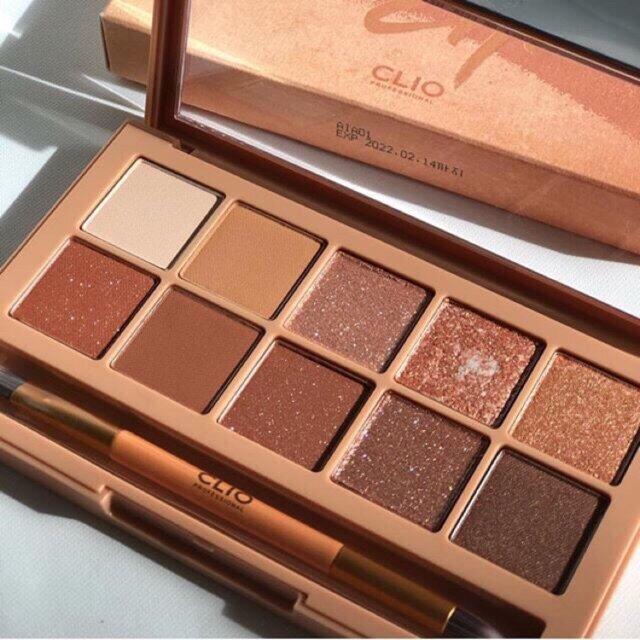 CLIO Pro Brown Choux Eye Palette Hàn Quốc