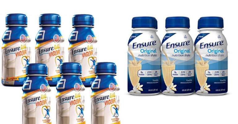 Sữa ensure nước có mấy loại ?