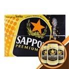 Bia Sapporo thùng 24 lon x 330ml