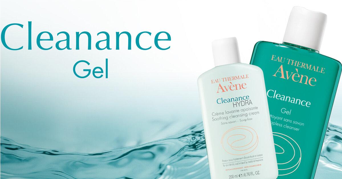 Sữa rửa mặt Avene nào phù hợp với da khô đang điều trị mụn?