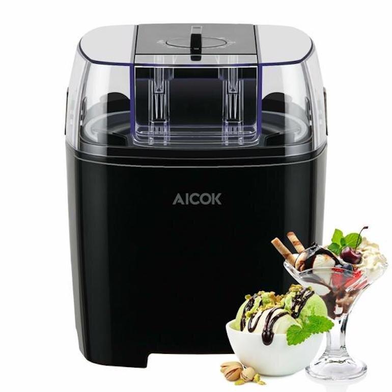 Máy làm kem mini gia đình Aicok