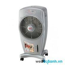 So sánh quạt hơi nước Sanyo REF-B100MK3 và quạt hơi nước Saiko AC 880