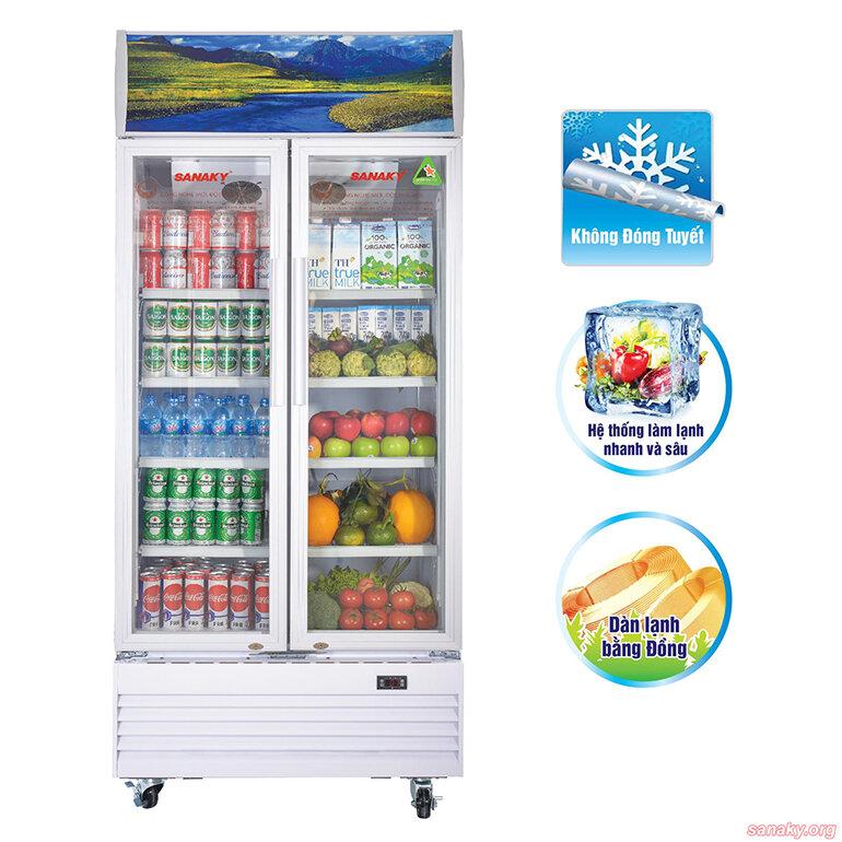 Tủ mát Sanaky 400 lít VH-6009HP