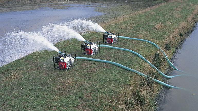 Máy bơm nước được ứng dụng trong thực tế
