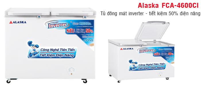 Đánh giá tủ đông Alaska 2 ngăn FCA 4600CI sự lựa chọn đáng tin cậy của người tiêu dùng