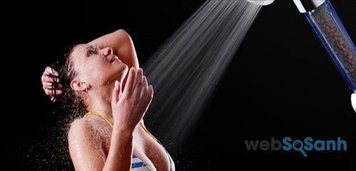 Bạn sẽ cảm thấy sảng khoái khi sử dụng vòi sen tăng áp