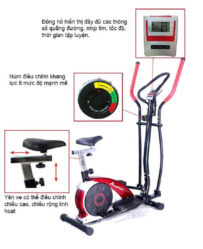 Máy tập đạp xe Enjoy 220