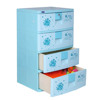 Tủ nhựa Sumi Duy Tân 4 tầng 4 ngăn – Nhỏ gọn, Tiện dụng