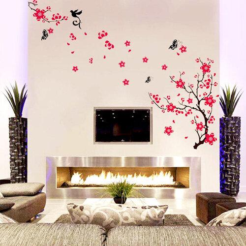 Sử dụng decal dán tường để trang trí cho không gian