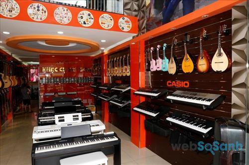 Địa chỉ bán nhạc cụ uy tín tại thành phố Hồ Chí Minh, Hà Nội