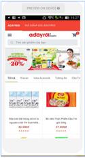 Adayroi App - phải chăng A Đây Rồi nên cho ra mắt ứng dụng mua sắm dành riêng cho mobile?