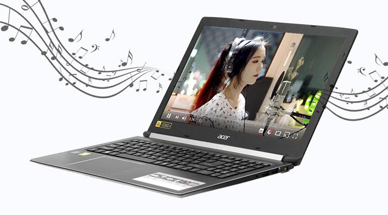 Máy tính - LaptopAcer Aspire A515 thiết kế đẹp mắt, hiệu năng ổn định đem đến tốc độ xử lý cao, vận hành hiệu quả trong khi sử dụng