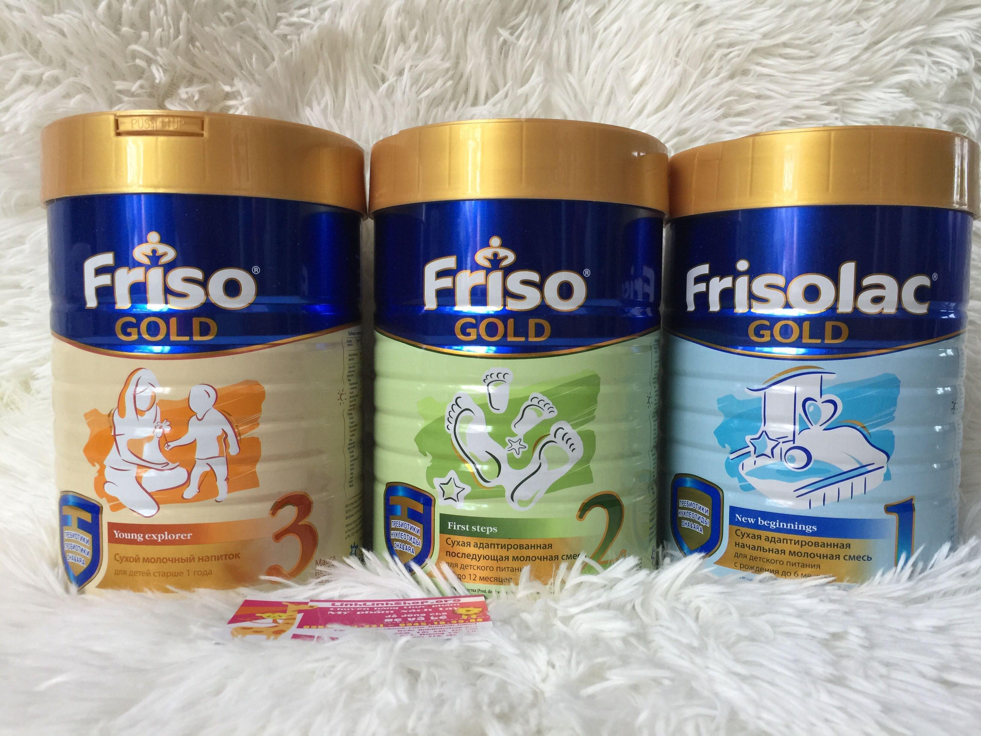 Sự khác biệt giữa hai dòng sữa Frisolac và Friso