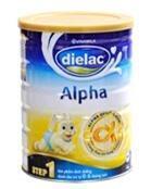 Sữa bột Dielac Alpha Step 2 - hộp 900g (dành cho trẻ từ 6 - 12 tháng)