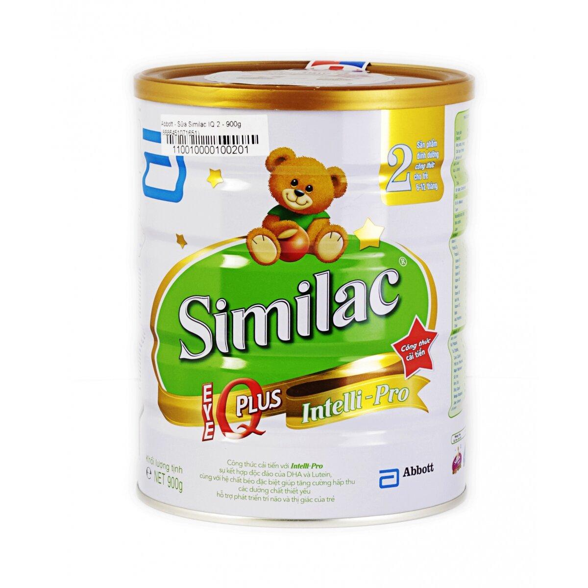 Abbott Similac Gain IQ 2 sữa tốt cho bé từ 6 đến 12 tháng tuổi