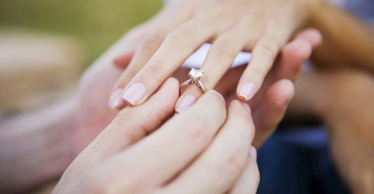 """Tìm một cặp nhẫn cưới không hẳn là khó đâu nhé, chỉ cần bỏ vào đấy một chút """"tâm"""" và """"công"""" là được!"""