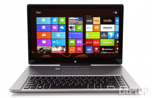 Acer Aspire R7: thiết kế độc đáo, màn hình cảm ứng thân thiện