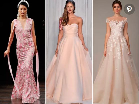 Những chiếc váy tone hồng rất mộng mơ!