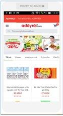 Adayroi App – phải chăng A Đây Rồi nên cho ra mắt ứng dụng mua sắm dành riêng cho mobile?