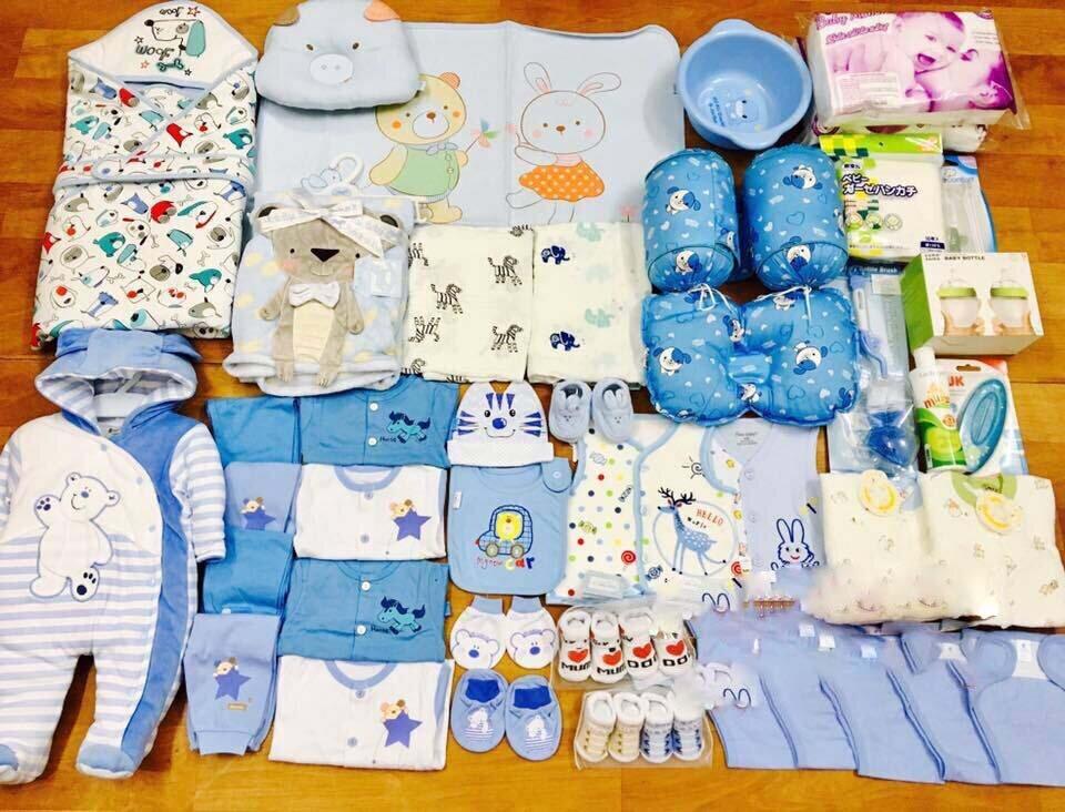 Chọn lựa đầy đủ các đồ dùng cần thiết cho bé cũng như đảm bảo chất lượng