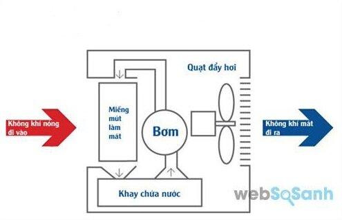 Air cooler là gì? Nguyên lý hoạt động và cấu tạo của máy làm mát không khí bằng nước