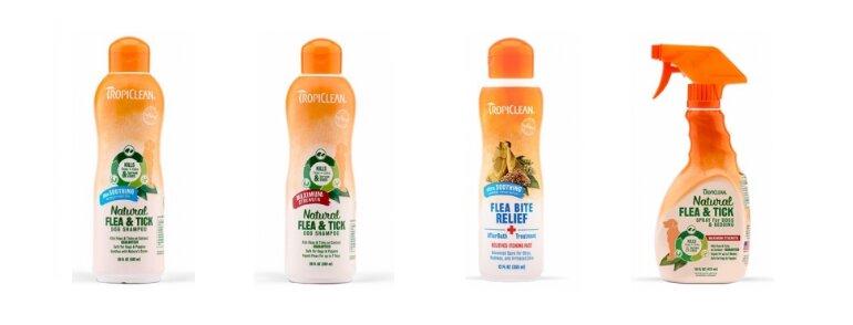 Sữa tắm đặc trị ve bọ chét cho chó Tropiclean
