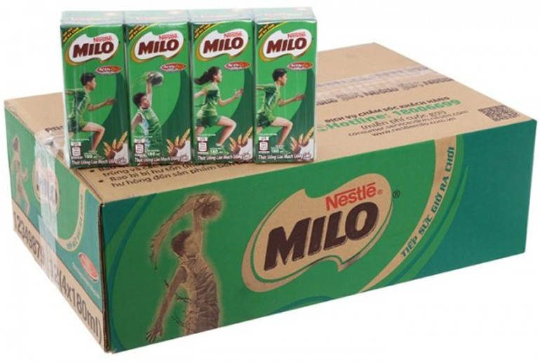 1 thùng sữa Milo bao nhiêu tiền ?