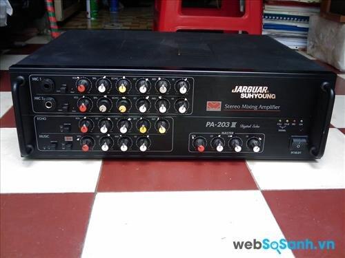 Ampli karaoke Jarguar 203III – đem đến chất lượng âm thanh hoàn hảo