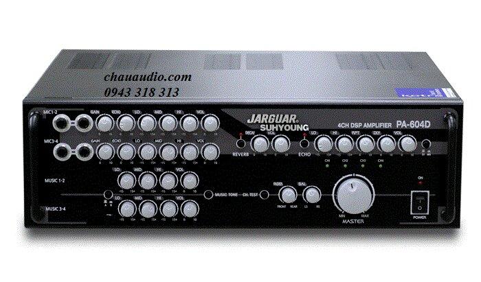 Amply (Amplifer) Karaoke Jarguar Suhyong PA-604D Digital – Công nghệ Full Digital tiên tiến