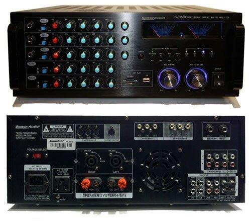 Amply (Amplifier) Boston PA 3500: khuếch đại tốt, âm thanh hay
