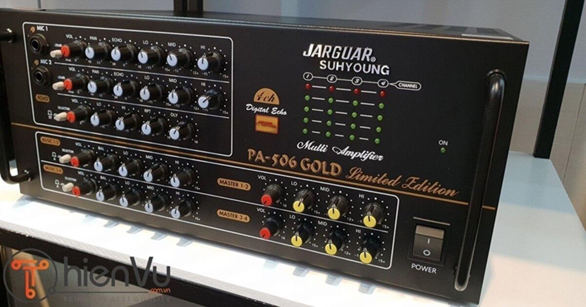 Amply Jarguar chính hãng giảm giá cực mạnh tại Thiên Vũ Audio