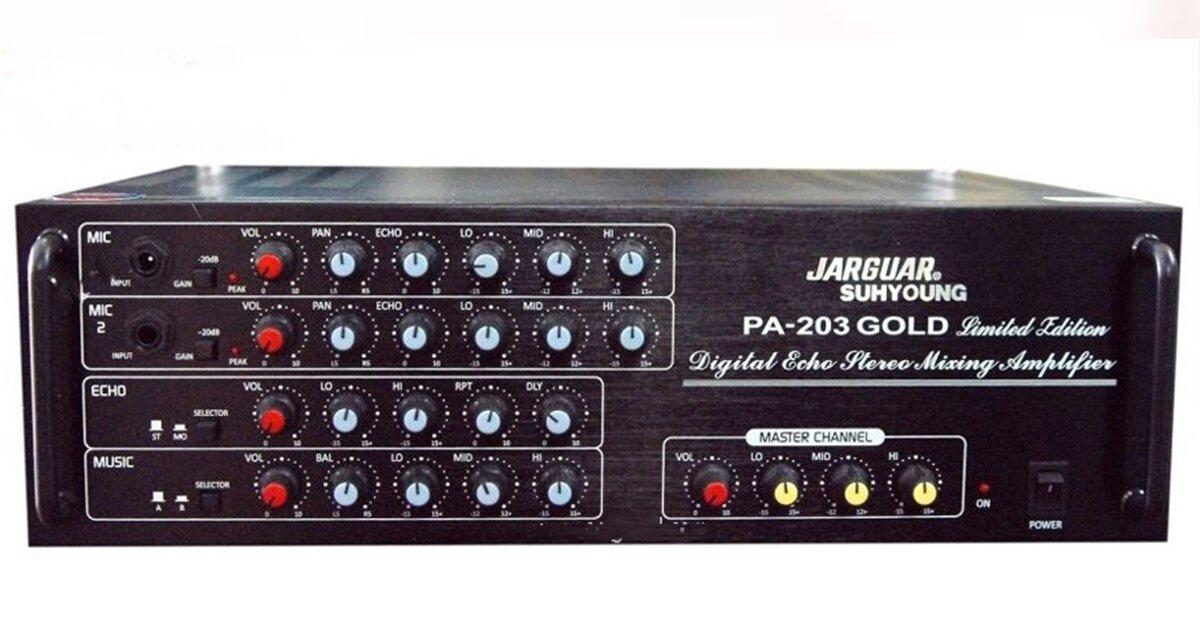 Amply Jarguar PA-203N Gold ghép đôi với loa nào hay nhất?