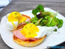 Ăn nhiều trứng không làm tăng cholesterol trong máu
