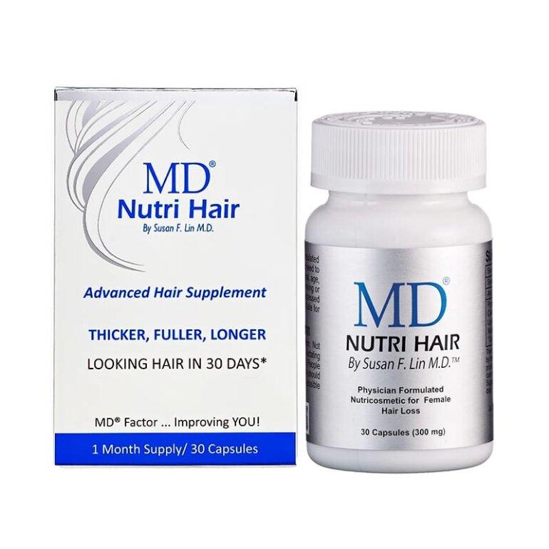 Thuốc uống kích thích mọc tóc MD Nutri Hair