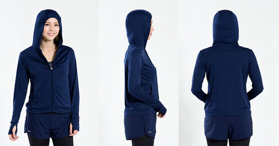 Áo khoác chống nắng UV100 là của hãng nào? Xuất xứ từ đâu?