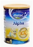 Sữa bột Dielac Alpha Step 1 - hộp 400g (dành cho trẻ từ 0 - 6 tháng)