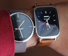 So sánh: Asus Zenwatch và Motorola Moto 360