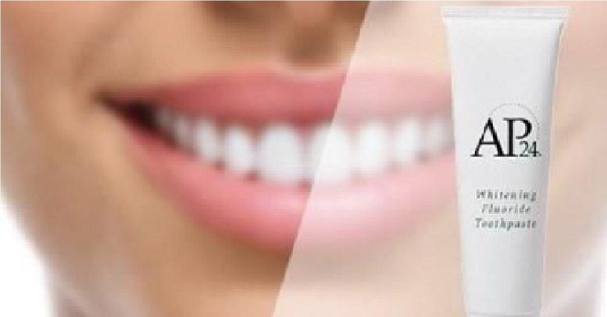 AP 24 là gì ? Tại sao sử dụng kem đánh răng AP 24 lại không nên làm ướt bàn chải trước ?