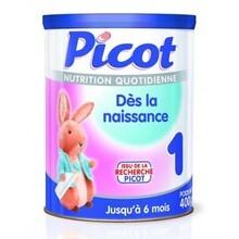 Bảng giá sữa bột Picot Pháp mới nhất cập nhật tháng 3/2017