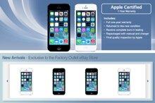 Apple hợp tác với eBay âm thầm bán iPhone 5 hàng tân trang