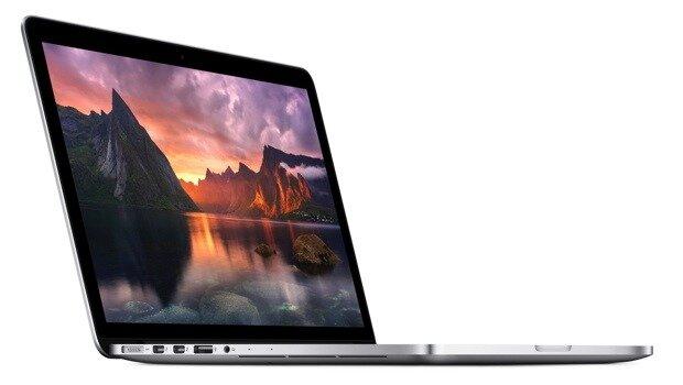 Apple trang bị màn hình Retina siêu nét cho MacBook Pro mới