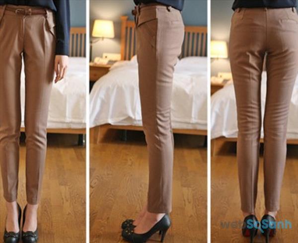 Mông lép thì nên mặc quần gì?