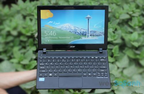 Laptop mini có thiết kế nhỏ gọn thích hợp sử dụng ở những không gian hẹp