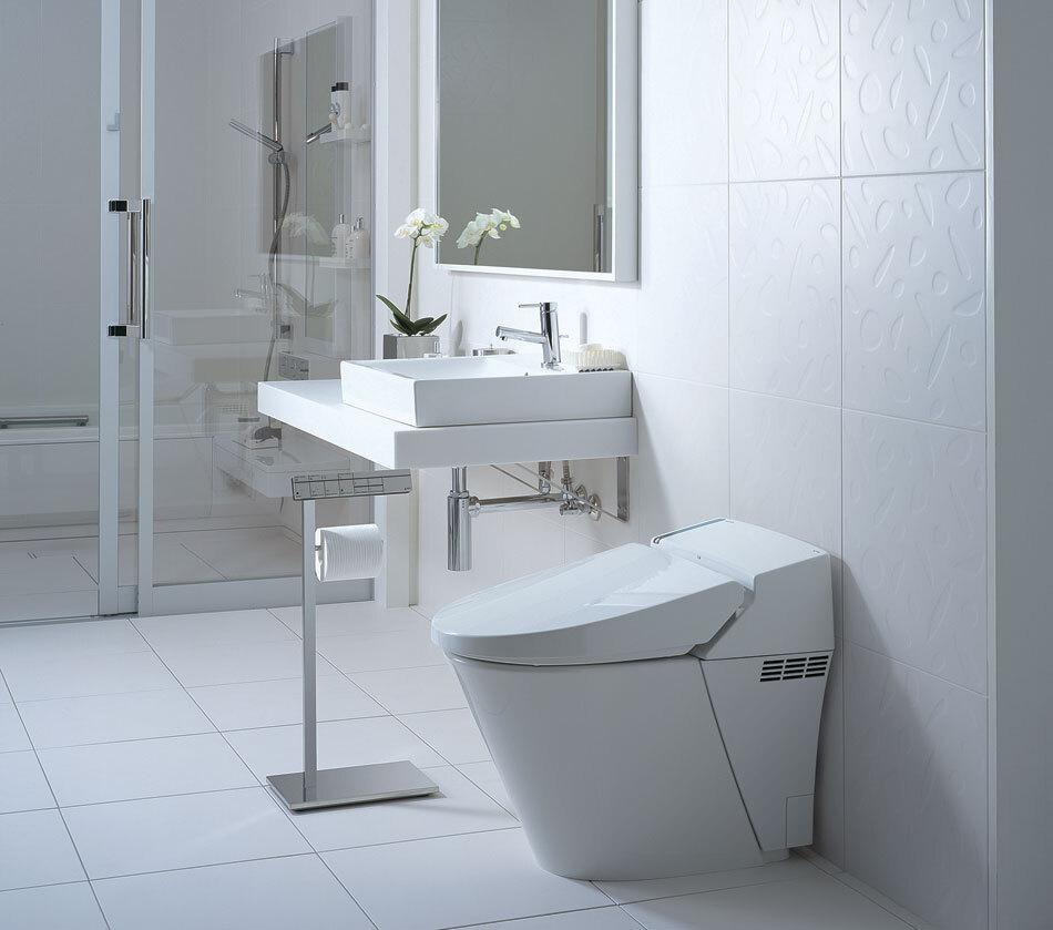 bồn cầu âm tường cho phòng tắm nhỏ