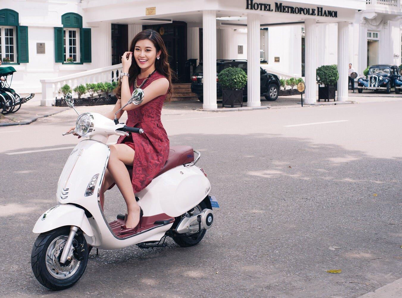 Xe máy điện cho nữ Vespa Roma Plus
