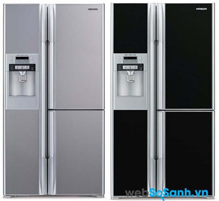 Các dòng tủ lạnh của Hitachi thường hết sức sang trọng