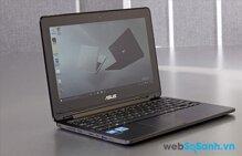 Asus Transformer Book Flip TP200SA: laptop lai Window 10 giá rẻ