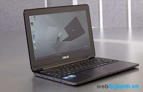 Asus Transformer Book Flip TP200SA: laptop lai Window 10 giá rẻ