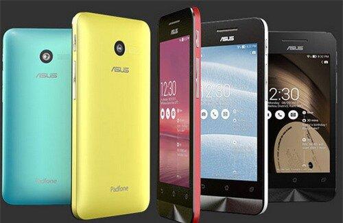 Asus tung ra bộ ba smartphone 2 SIM dùng chip Intel