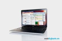 Đánh giá Dell XPS 14 (2012) độ sáng màn hình  cao hơn MacBook Air 13 inch